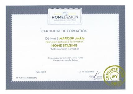 Home Staging Training Certificate